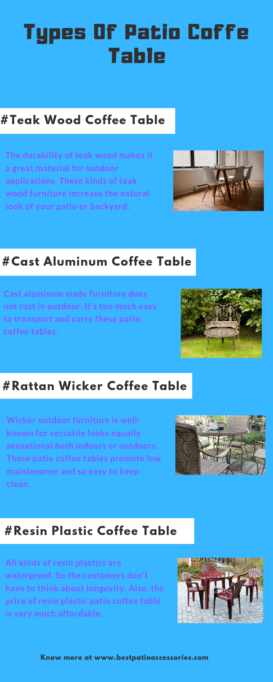 Types of Coffee Table