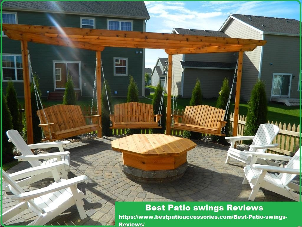 Porch Swings Are A Good Option When It Comes To Comfortable Patio Furniture These Kinds Of Take Very Little E And They Offer Additional