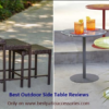 Top Outdoor Side Table Reviews 2019 | Best Patio Side Tables For Any Decor