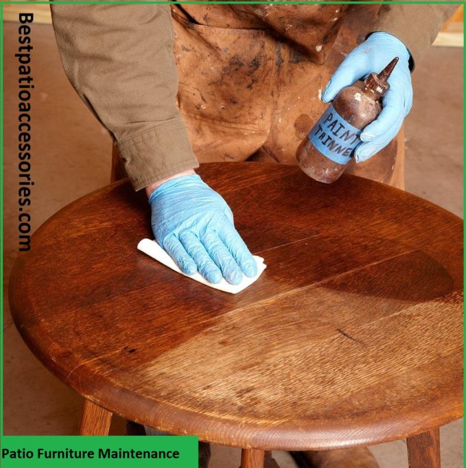Patio Furniture Maintenance