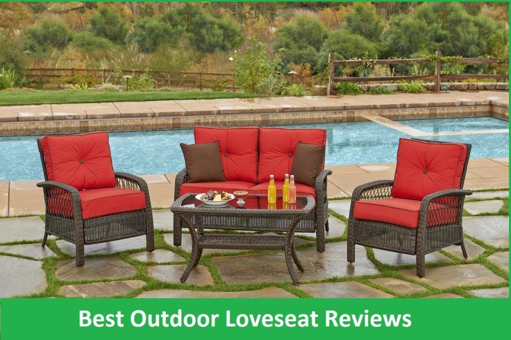 Admirable Best Outdoor Loveseat Reviews 2019 Patio Loveseats For Uwap Interior Chair Design Uwaporg