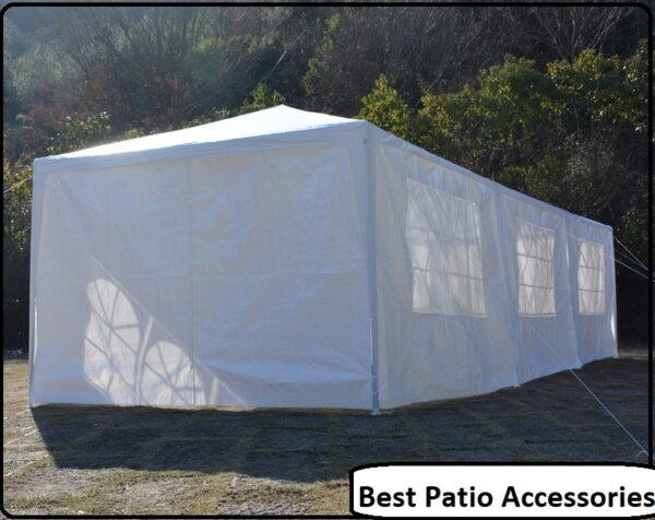 10 x 30 Upgrade 8 Walls Spiral Tube Pavilion Canopy Tent 3