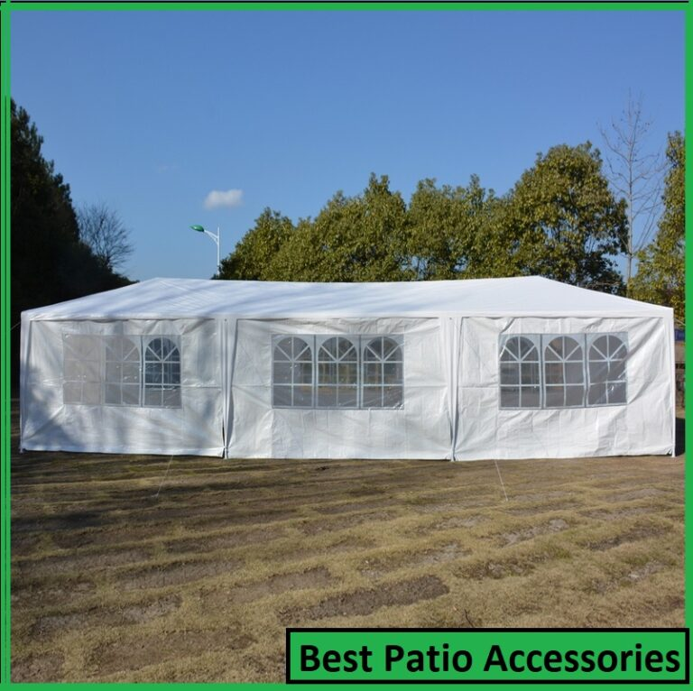 10 x 30 Upgrade 8 Walls Spiral Tube Pavilion Canopy Tent