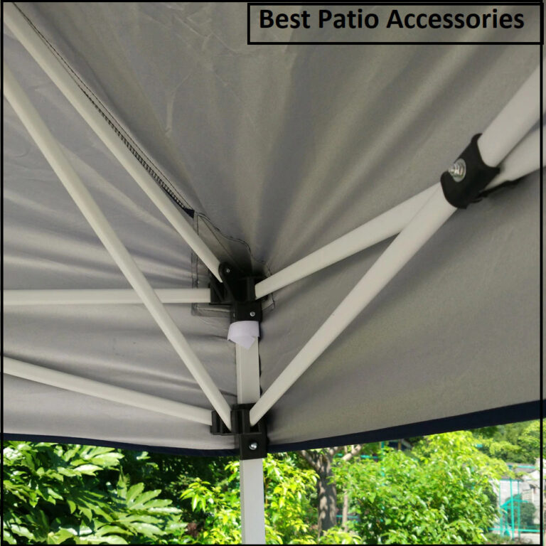 10x10 ft Foldable Easy Pop Up Canopy Patio Tent with Carrying Bag 4