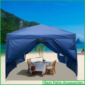 3 x 6m Waterproof Folding Outdoor Camping Canopy Tent with Four Windows