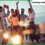 hosting outdoor parties